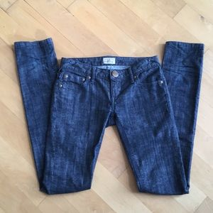 Free People Dark Wash Skinny Jeans nice!